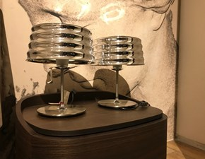 Lampada da tavolo in metallo Ch'i Penta illuminazione a prezzo Outlet