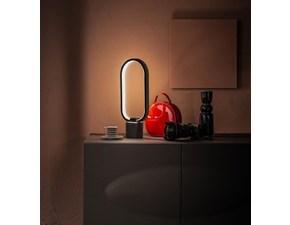Lampada da tavolo in metallo Naos la/156n Stones a prezzo Outlet