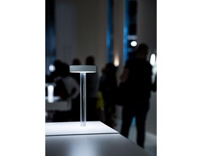 Lampada da tavolo in metallo Tetatet flûte Davide groppi a prezzo scontato