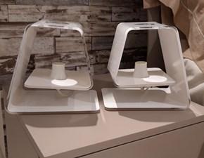 Lampada da tavolo in plastica Carina Calligaris a prezzo Outlet