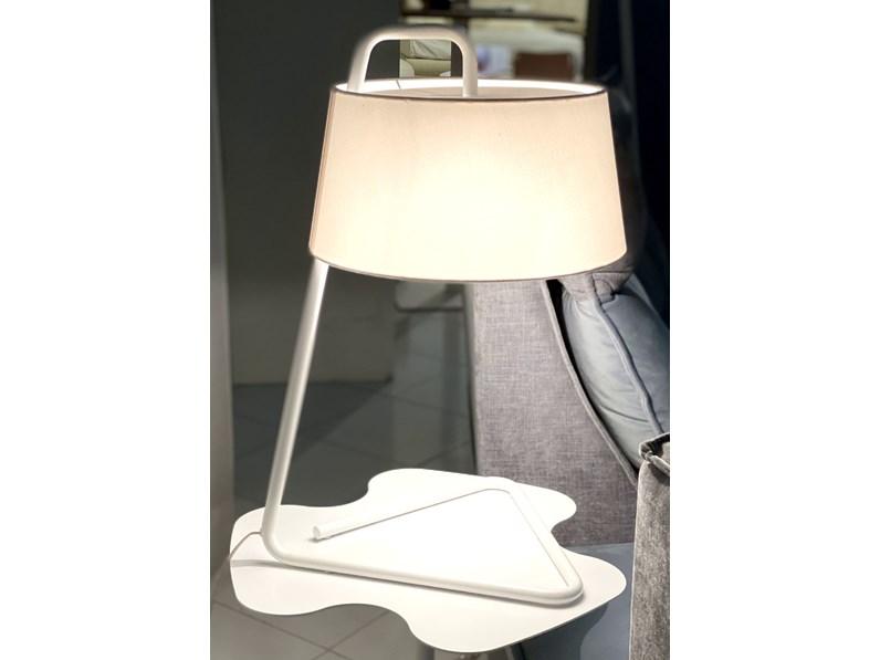 Lampada Da Tavolo In Tessuto Sextans Art Cs8007t Calligaris A Prezzo Outlet
