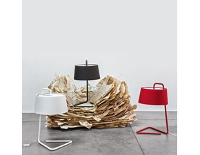 Lampada da tavolo in tessuto Sextans art. cs8007t Calligaris a prezzo Outlet
