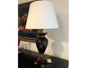 Lampada da tavolo in vetro Asia Artigianale a prezzo Outlet