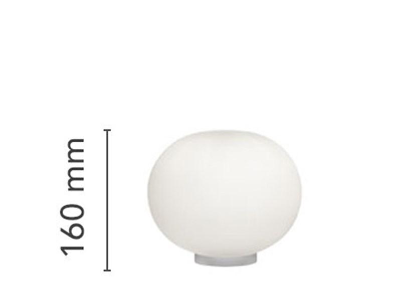 Lampada Da Tavolo In Vetro Glo Ball Basic Zero Switch Flos A Prezzo Scontato
