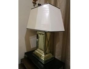 Lampada da tavolo in vetro Mirror Artigianale a prezzo scontato