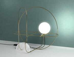 Lampada da tavolo in vetro Setareh Fontana arte in Offerta Outlet
