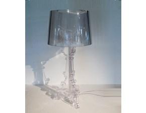 Lampada da tavolo Kartell lampade da tavolo bourgie versione trasparente cristallo Kartell in Offerta Outlet
