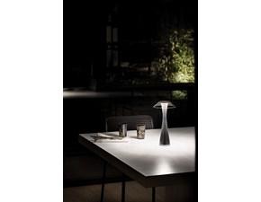 Lampada da tavolo Kartell Space outdoor stile Design in offerta