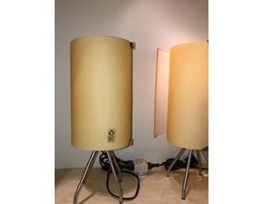 Lampada da tavolo Leucos Diana ambra stile Moderno a prezzi convenienti