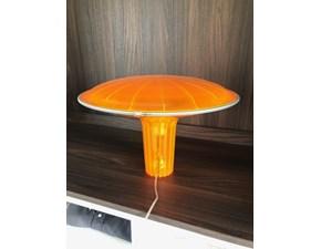 Lampada da tavolo Luceplan Agaricon Arancio con forte sconto