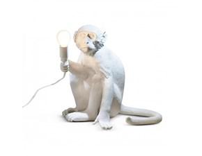 Lampada da tavolo Monkey lamp sitting Seletti a prezzo Outlet