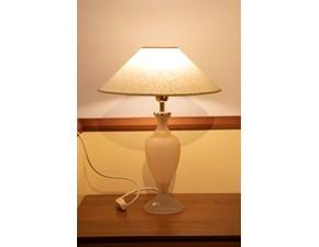 Lampada da tavolo N. 2 lampade di murano interno luce Artigianale con uno sconto esclusivo