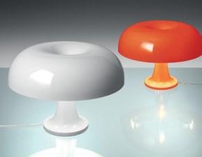 Lampada da tavolo Nessino arancio artemide  Artemide in Offerta Outlet