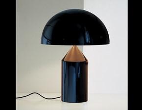Lampada da tavolo O-luce atollo 233 nero O-luce in Offerta Outlet