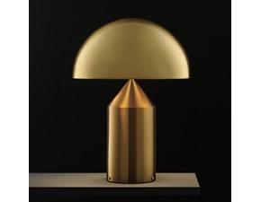 Lampada da tavolo O-luce atollo 239 oro  O-luce con un ribasso esclusivo
