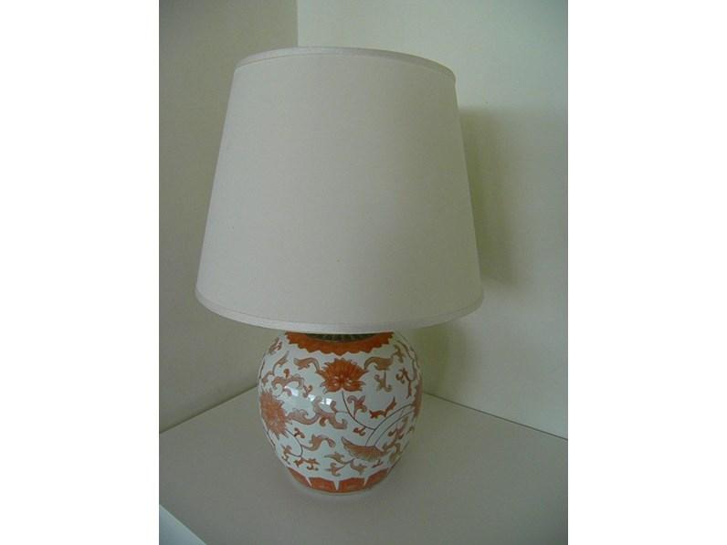 Lampada Da Tavolo Porcellana Artigianale A Prezzo Outlet