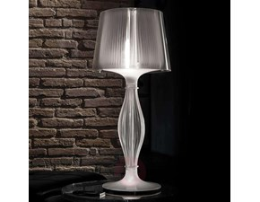 Lampada da tavolo Slamp Slamp lampada liza trasparente  Trasparente a prezzi outlet