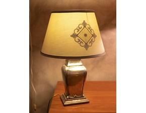 Lampada da tavolo stile Classica Lampada in peltro vestigia Artigianale in saldo