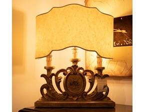 Lampada da tavolo stile Classica Lampada oro grifoni silvano Grifoni vittorio in offerta outlet