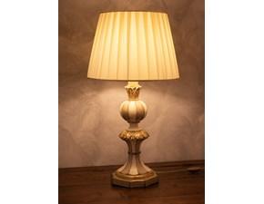 Lampada da tavolo stile Classica Lampada silvano grifoni bianco antico Grifoni vittorio in offerta