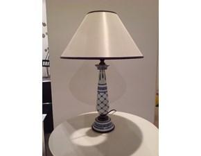 Lampada da tavolo stile Classica Porcellana Mangani con forte sconto