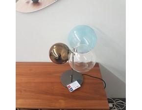 Lampada da tavolo stile Design Atomo Tonin casa a prezzi outlet