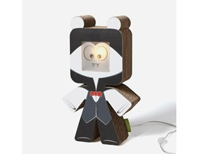 Lampada da tavolo stile Design Dracula Cubodesign con forte sconto