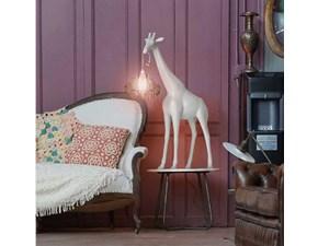 Lampada da tavolo stile Design Giraffe in love xs  qeeboo Artigianale con forte sconto