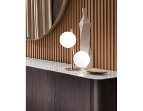Lampada da tavolo stile Design Lampada da appoggio twist t Riflessi in offerta outlet