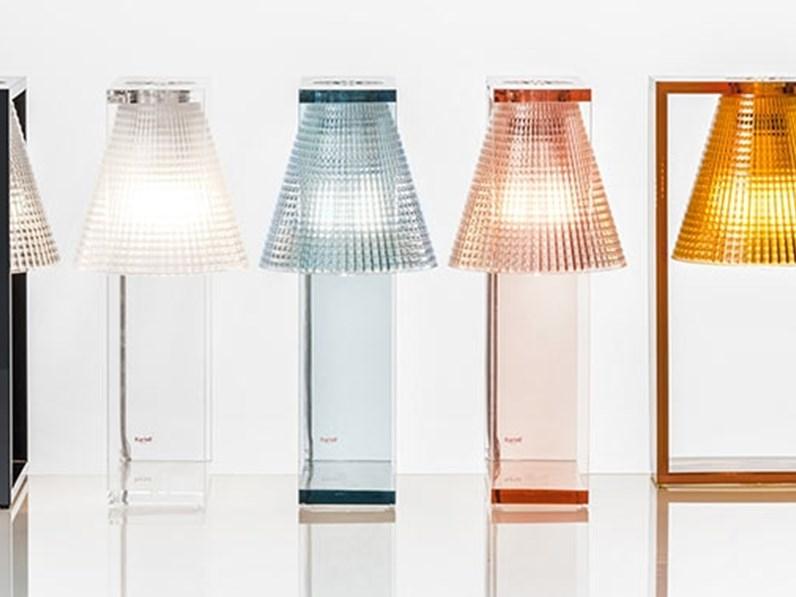 Lampada Da Scrivania Kartell.Lampada Da Tavolo Stile Design Light Air Kartell In Saldo