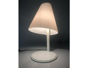 Lampada da tavolo stile Design Micene Leucos a prezzi outlet