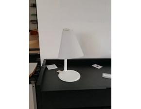 Lampada da tavolo stile Design Micene Leucos in offerta outlet