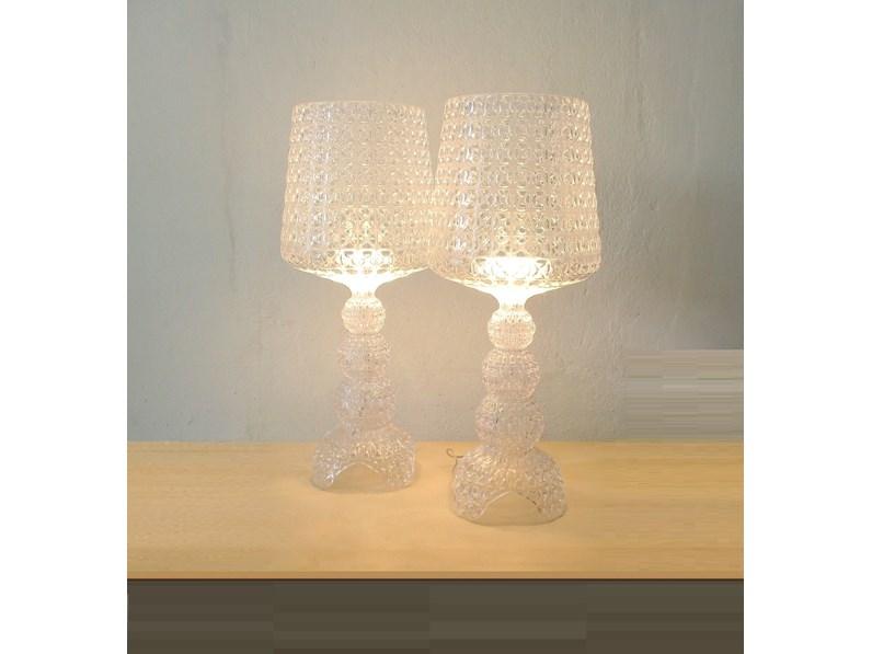 Lampada Da Scrivania Kartell.Lampada Da Tavolo Stile Design Mini Kabuki Lampada Da Tavolo Kartell Kartell In Saldo