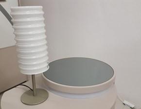 Lampada da tavolo stile Design Modulo Leucos con forte sconto