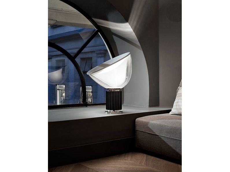 Lampada Da Tavolo Stile Design Taccia Flos Con Forte Sconto
