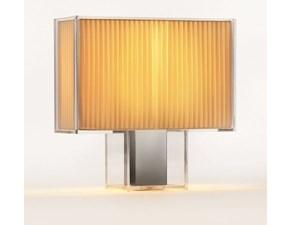 Lampada da tavolo stile Design Tati plissè  Kartell a prezzi outlet