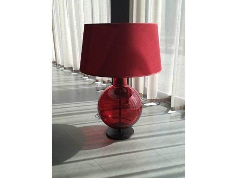 Lampada da tavolo design tic&toc penta illuminazione in offerta outlet