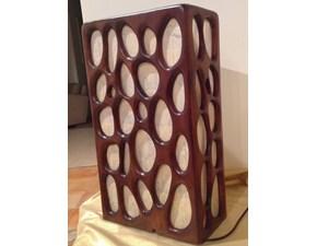 Lampada da tavolo stile Etnico Ebano Artigianale in offerta outlet