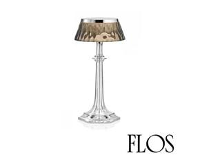 Lampada da tavolo stile Moderno Bon jour versailles small - corona - fumè Flos scontato