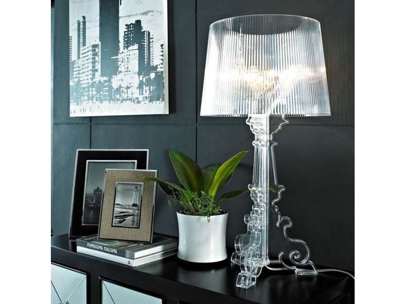 Lampada Da Tavolo Stile Moderno Bourgie B4 Kartell In Saldo