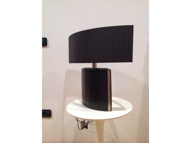 Lampada da tavolo stile moderno geo artigianale scontato for 2c arredamenti