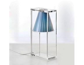 Lampada da tavolo stile Moderno Light air Kartell a prezzi outlet