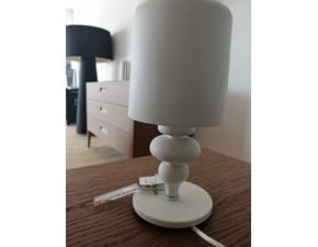 Lampada da tavolo stile Moderno Lumetto eva in ferro bianco Artigianale in offerta
