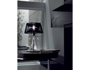Lampada da tavolo stile Moderno Parigi Sillux in offerta outlet