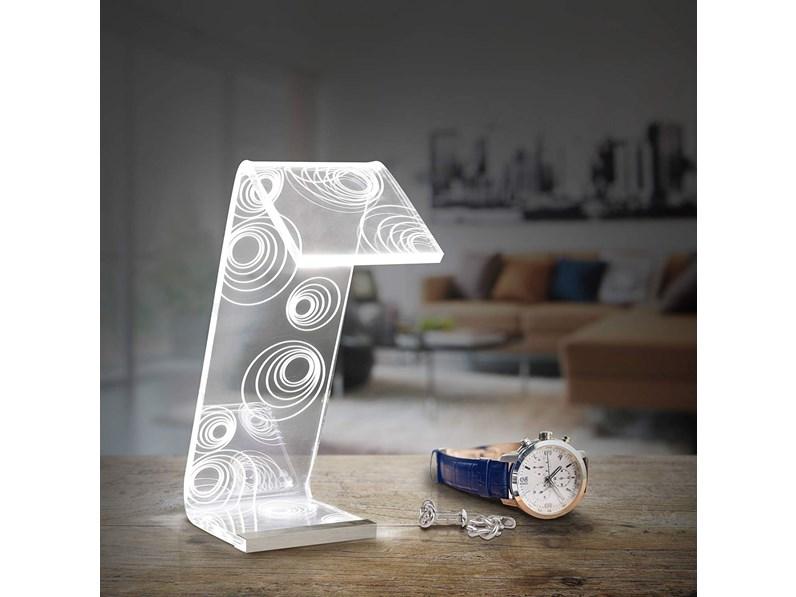 Lampada da tavolo vesta design mod c ledmedia a prezzo outlet for Tavolo design outlet