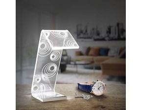 Lampada da tavolo Vesta Design mod. C-LEDmedia a prezzo Outlet