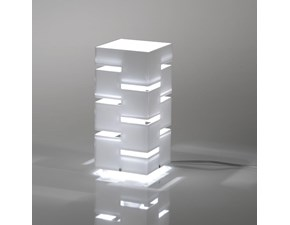 Lampada da tavolo Vesta Design mod. QUADRA piccola a prezzi outlet