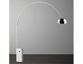 Lampada da terra Flos Arco led stile Design con forte sconto