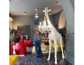 Lampada da terra Giraffe in love  design bianco  Artigianale in Offerta Outlet