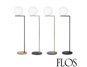Lampada da terra Icf1 outdoor Flos in Offerta Outlet